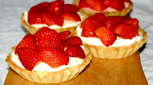 Strawberry Tarts | Chocolate Couverture