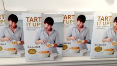 Eric Lanlard Book cover at launch