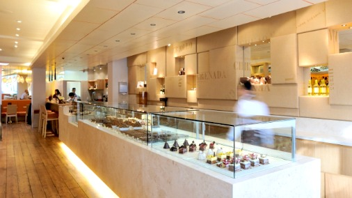 View of Chocolate and Patisserie Counter
