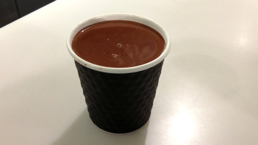 Hot chocolate takeaway