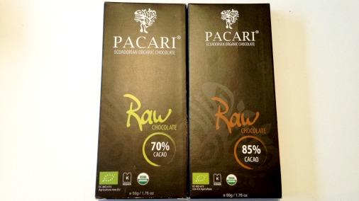 Pacari Raw 70 & 85