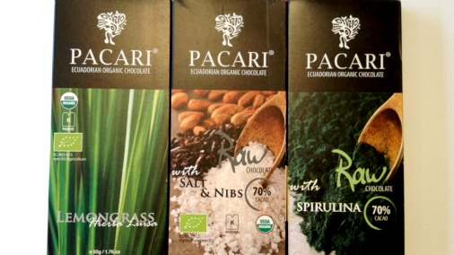 pacari flavoured bars