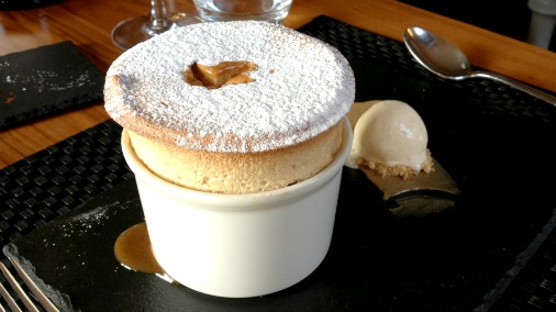 Sticky Toffee Souffle