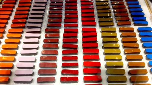 Fantastically elegant chocolates at Salon du Chocolat Paris.