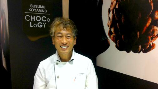 Man of the moment Susumu Koyama of Es Koyama.