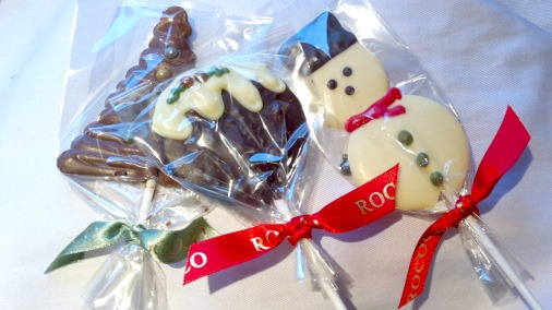 Cute and properly good chocolates at Rococo.