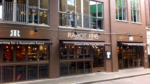 The newly opened Rabot 1745, Borough Market, London.