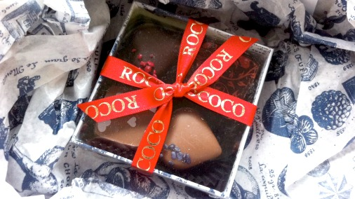 Delicious delicate offerings from Rococo for Valentines.
