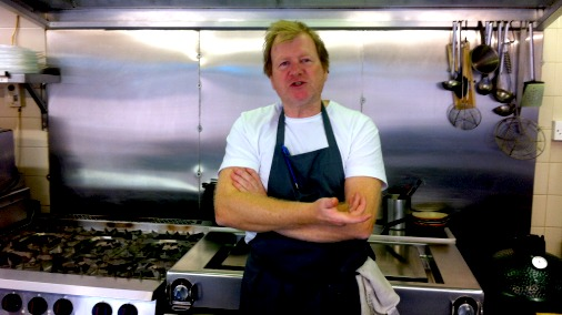 Graham Garrett, chef/patron of The West House.