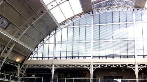 It was all happening under this stunning roof at The Business Design Centre in Islington.