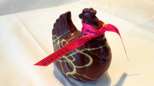 A beautiful hen from Chococo's Easter offering.