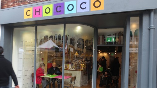 The new shop in Winchester is a magnet for chocolate lovers and a wonderful achievement for Chococo.