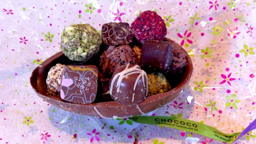Chococo's fine filled chocolates, with an Easter twist.