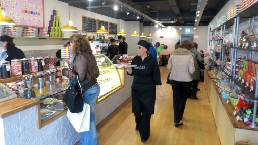 The interior of the new Chococo shop in Winchester.