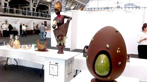 The chocolate exhibition.