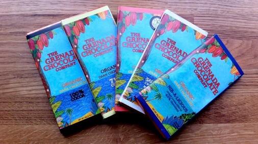 Grenada Chocolate Company Bars
