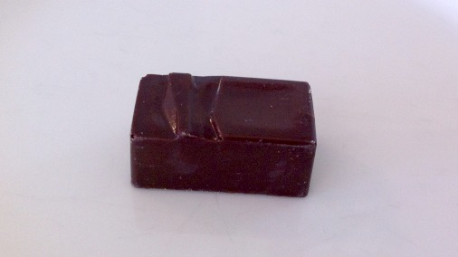 Dark chocolate bayleaf ganache.