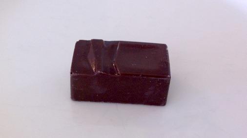 Dark chocolate bayleaf ganache.