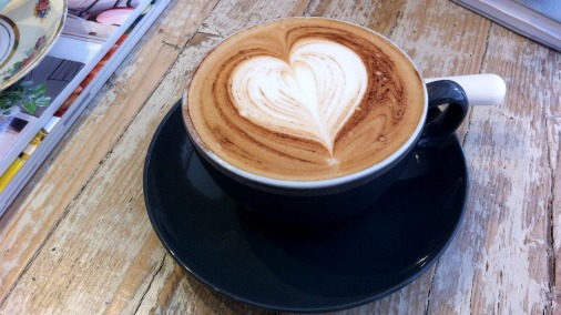 Made with love, the coffee tastes as good as it looks!
