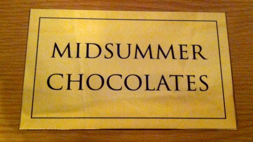 Serious haute cuisine chocolate box.