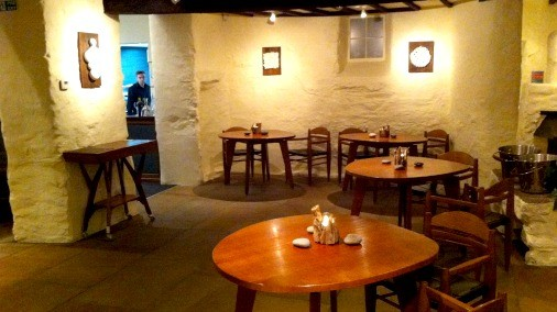 The Interior of L'Enclume.
