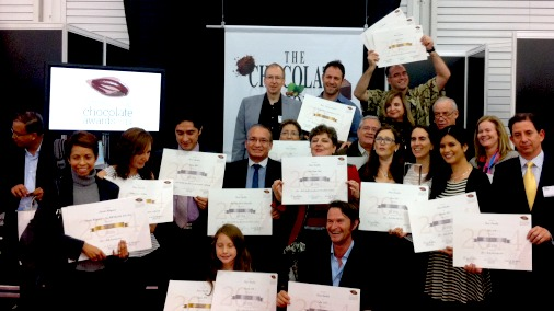 Some very happy medal winners from the Americas round of The International Chocolate Awards.