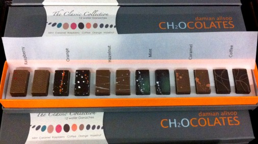 Perfectly fine chocolates, from Damian Allsop.