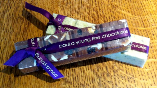 Paul a Young has upped the ante for chocolate bars.