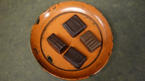 My tasting plate.