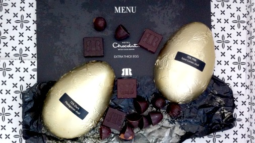 Rabot Estate Extra Thick Egg, from Hotel Chocolat.