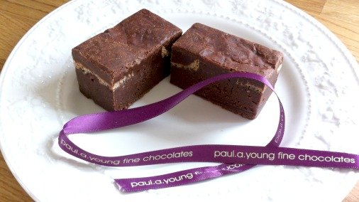 Brownie/Hot X Bun hybrid from Paul A Young.