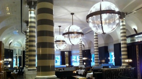 The hotel also houses the gorgeous Italian restaurant - Massimo.
