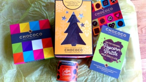Chococo chocolates putting the fun into festive.