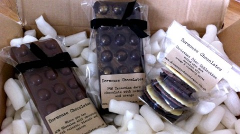 One of the new bean-to-bar kids on the block, Dormouse Chocolates.