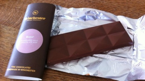 Flavoured bars, an alternative gift option from Winchester Cocoa Company.