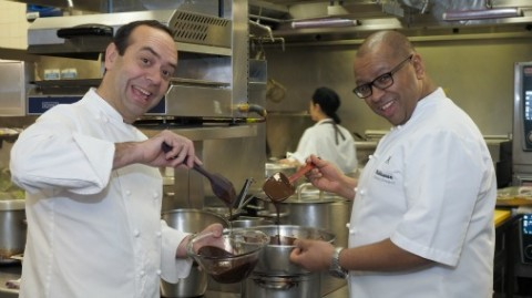 Jose Pizarro and Graham Hornigold