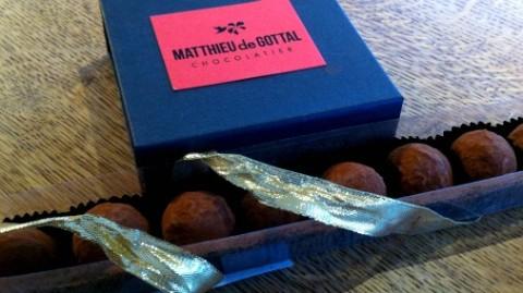 Such sensitive flavour pairing from Matthieu de Gottal.