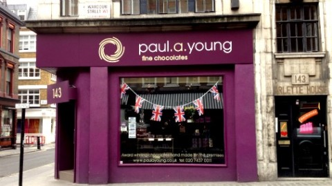 Always worth visiting; Paul A Young on Wardour Street