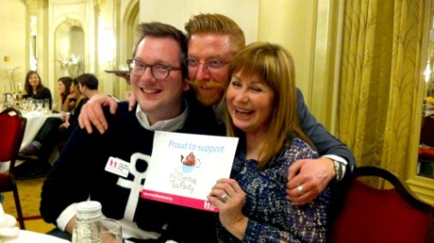 A great chocolate moment to remember, Paul A Young, Edd Kimber and Sian Lloyd lend their support to The Big Chocolate Tea Party.