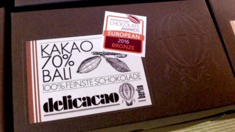 Delicacao - award winning German bean to bar.