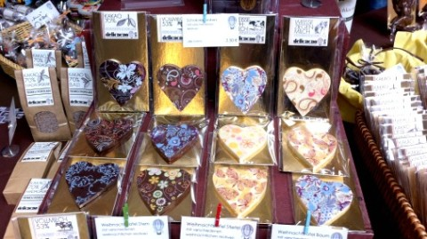 Pretty hearts from delicacao.
