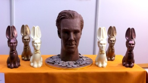 Chocolate Benedict and his cumberbunnies.