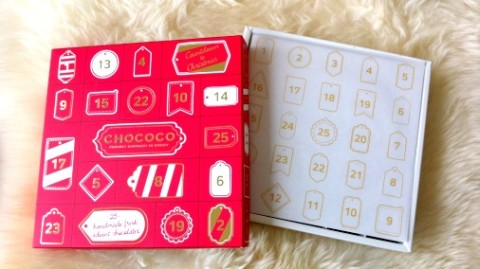 The ever wonderful Chococo calendar has a new look.
