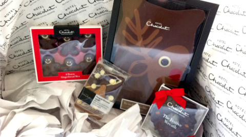 A bumper Christmas crop from Hotel Chocolat.