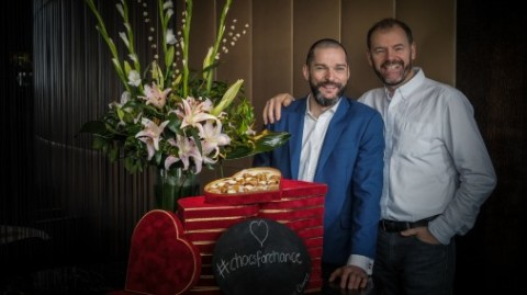 Chris Galvin & Fred Sirieix - Copyright of Pellier Photography