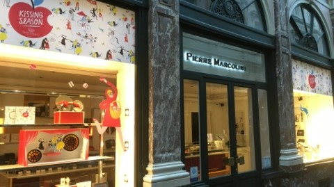 The big names in Belgian chocolate have multiple shops in the capitol, sometimes even on the same street!