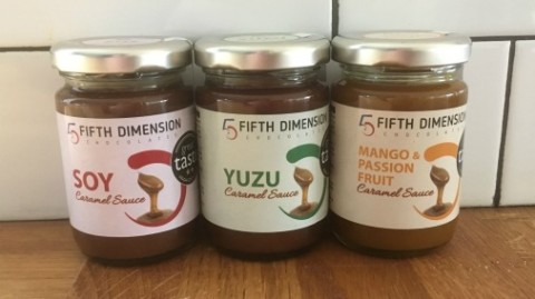 5D caramels - the perfect foodie stocking filler