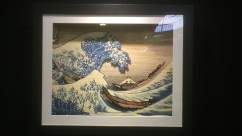The Great Wave - by Rococo at The Chocolate Show