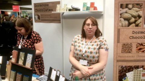 The Dormouse stand at The Chocolate Show